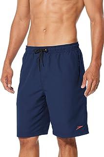 Speedo Men's Swim Trunk Knee Length Volley Comfort Liner Solid