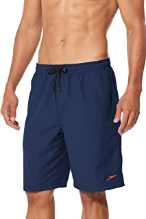Men's Swim Trunk Knee Length Volley Comfort Liner Solid