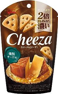 江崎グリコ 生チーズのチーザ&lt燻製チーズ味&gt 40g ×10個