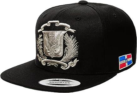 bf64d90c94ef7b Peligro Sports Dominican Republic Shield Snapback Cap