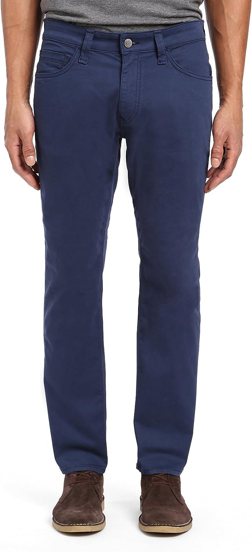 Mavi Men's Zach Size 31 Regular store 32 Marine Selling rankings Straight Pants Twill Leg Blue