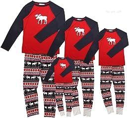 Ensemble Pyjama Noel Famille Père Noël Mère Garçon