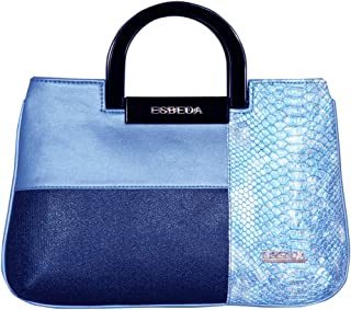 ESBEDA Blue Color Medium Size Cuero Armbag For Women