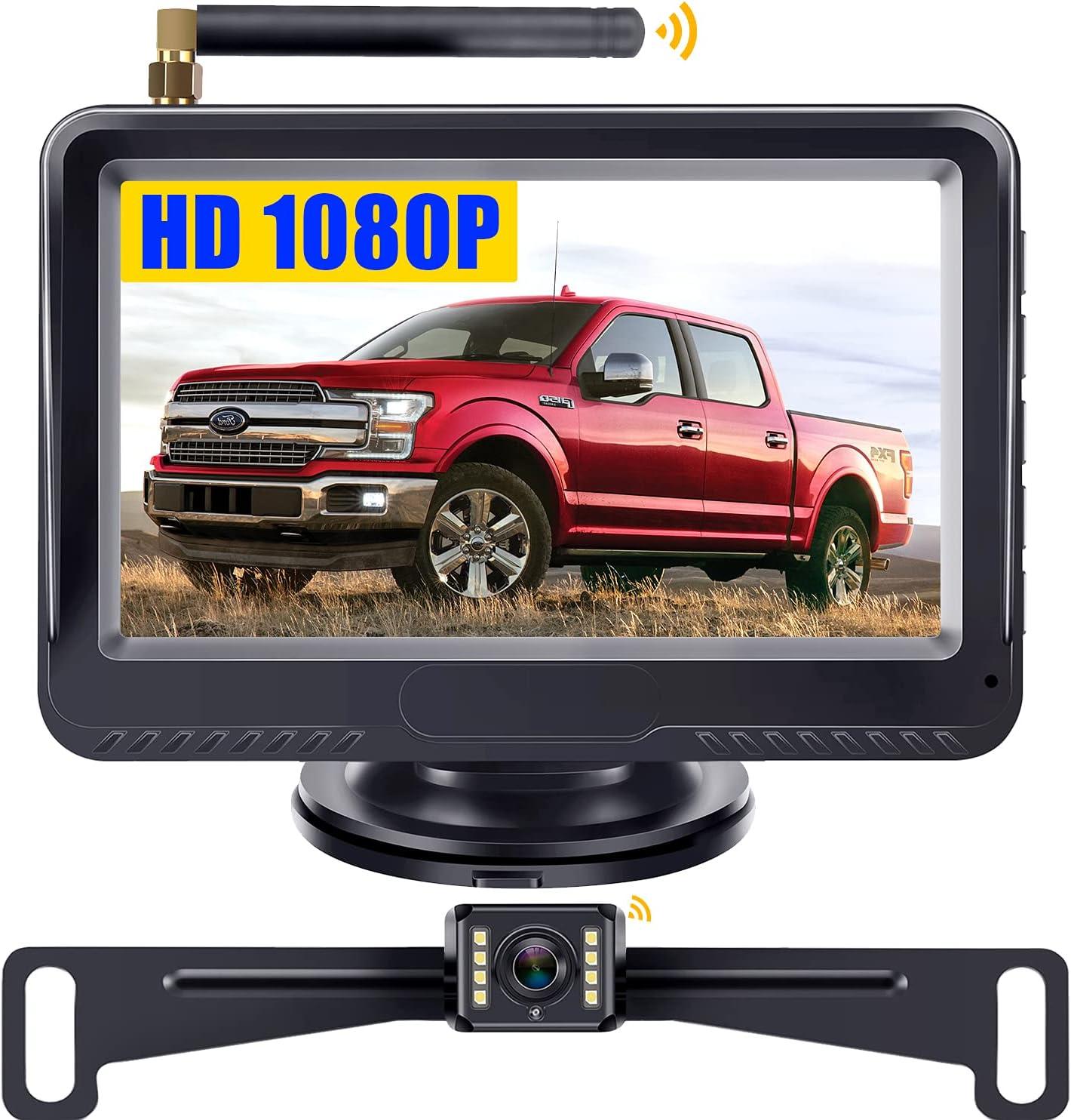 Leekoolou卡车无线备份摄像头