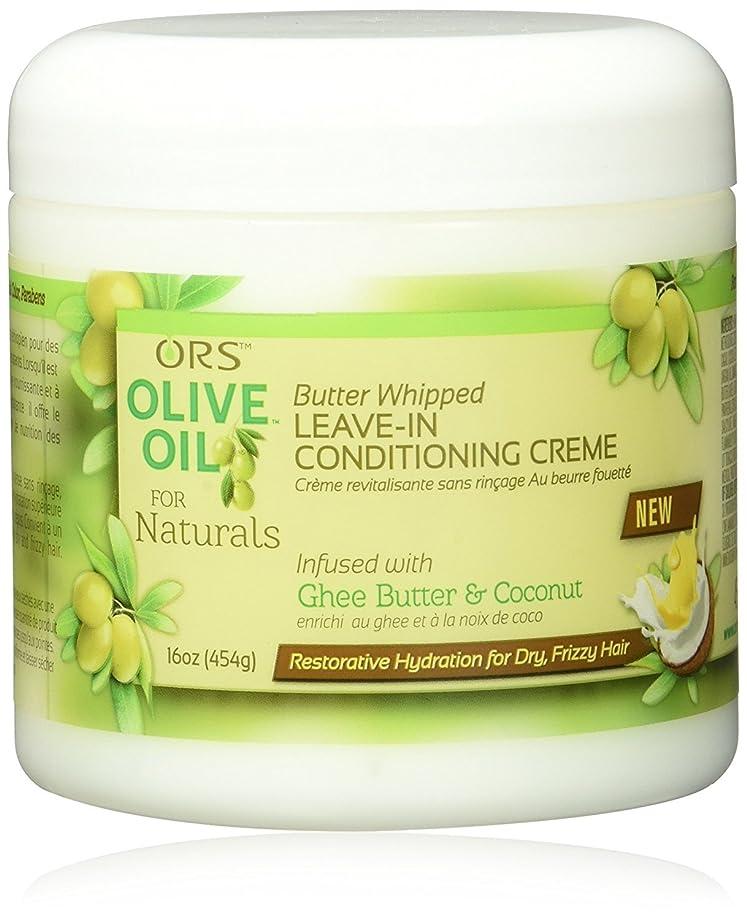 カレッジバーマド常習的ORS Black Olive Oil ORSオリーブ油ナチュラルズバターホイップままでコンディショニングクリーム