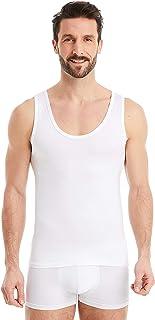 FINN, Camiseta de Tirantes para Hombre - Ropa Interior Microfibra