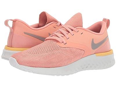 Nike Odyssey React Flyknit 2 (Pink Quartz/Pumice/Platinum Tint) Women