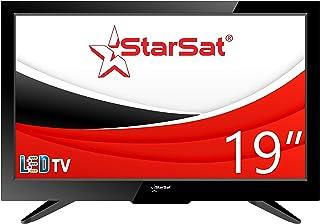 """StarSat 19"""" HD LED TV, AC/DC, Slim bezel design, HDMI, USB, AV and PC mode"""