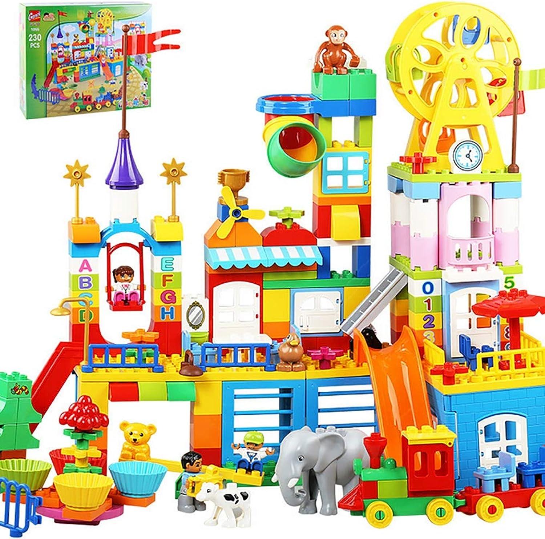 TTGE Fantasy Happy Valley-Szene Gehirnspiel Kind Große Teilchen Bausteine, 230pcs B07MJKWFQH  Die Farbe ist sehr auffällig      Großer Räumungsverkauf