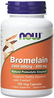 Bromelain 500 mg by Now Foods 120 Vegetarian Capsules