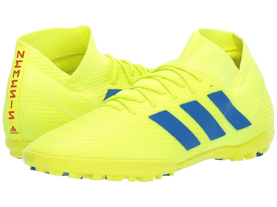 adidas Nemeziz 18.3 TF (Solar Yellow/Football Blue/Active Red) Men's Soccer Shoes