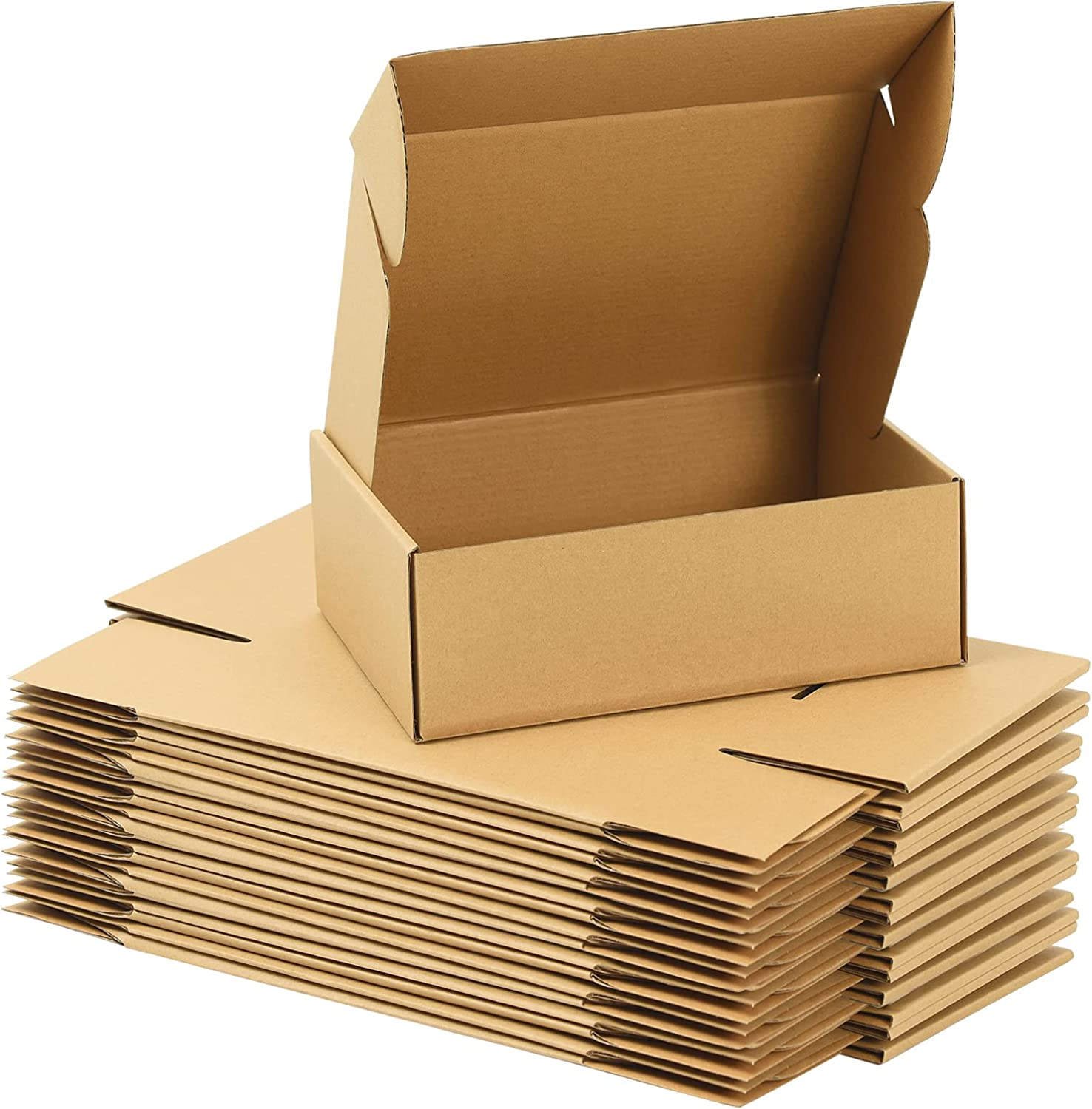 ZSZMFH 28 Pack 13x11x2 inches for Genuine Free Shipping Boxes Business Inventory cleanup selling sale Small