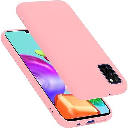 Cadorabo Hülle Für Samsung Galaxy A41 In Liquid Pink Elektronik