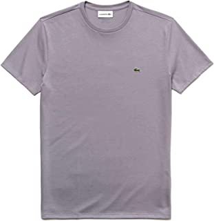 Mens Short Sleeve Crew Neck Pima Cotton Jersey T-Shirt