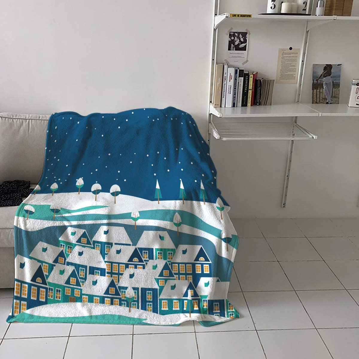 El Paso Mall Teamery 50x80in Throw Blanket for Adults T in Kids - Popular Green House