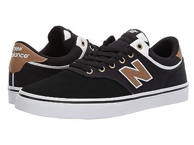 New Balance Numeric NM255 (Black/Brown) Men