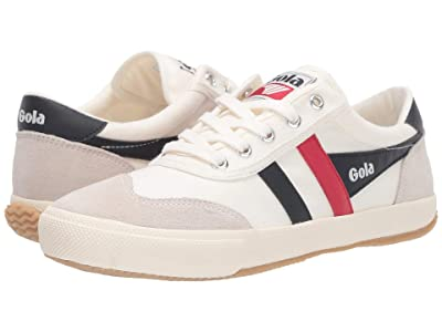 Gola Badminton (Off-White/Navy/Red) Women