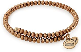 Alex and Ani Women's Brilliance Wrap Copper Spark
