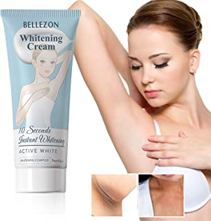 Whitening Cream Effective Lightening Cream for Armpit, Knees, and Private Areas, Brightens & Nourishes Repairs Skins (1 Fl Oz)