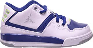 ad5e4c3e2a68e2 Jordan Flight 23 BP Preschool Little Kids Shoes White Grey-Insignia  Blue Ghost