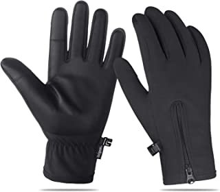 Unigear Winter Gloves Waterproof Outdoor Touch Screen Gloves for Running, Walking, Cycling, Ridding and Driving for Men & Women