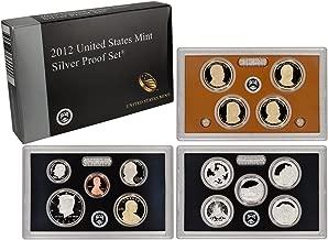 2012 silver proof set mintage