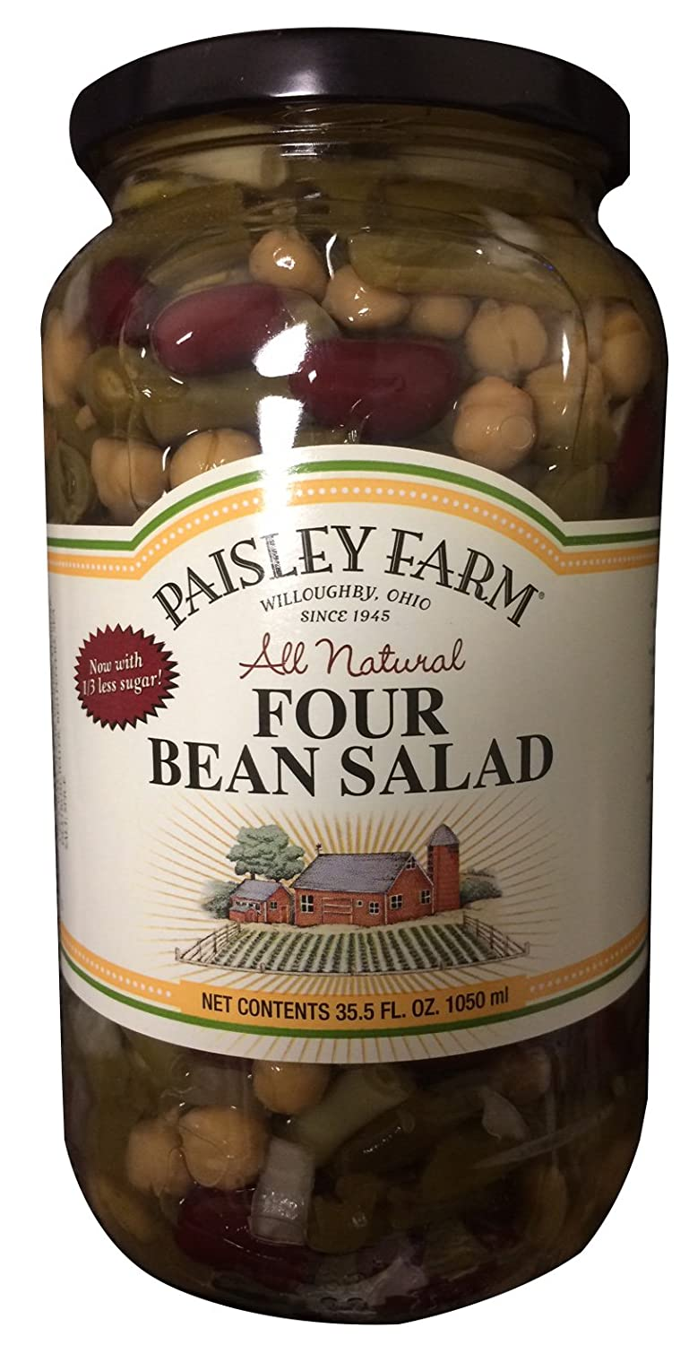 Paisley Farm Inventory cleanup selling sale All Bombing free shipping Natural Four Bean Salad 35.5oz