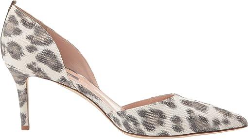 Leopard Print Linen/Calf