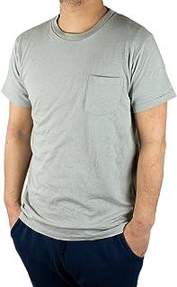 Velva Sheen 1PAC MOCK TWIST ベルバシーン ポケット付 クルーネック Tシャツ アメリカ製 グレー