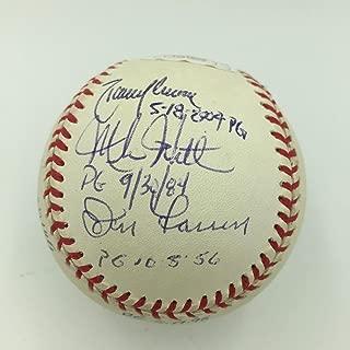 Perfect Game Pitchers Multi Signed MLB Baseball 9 Sigs Randy Johnson JSA - PSA/DNA Certified - Autographed Baseballs