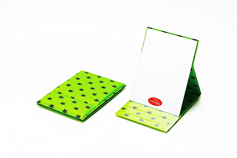 申込み優雅なパキスタン堀内鏡工業 CocoLand ナピュア折立ミラー M ドット緑