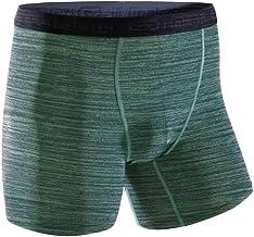 Kalenji Men's Breathable Running Boxers - Mottled Green