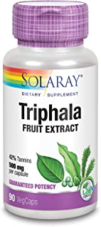 Solaray Triphala Extract 500 mg VCapsules | 90 Count