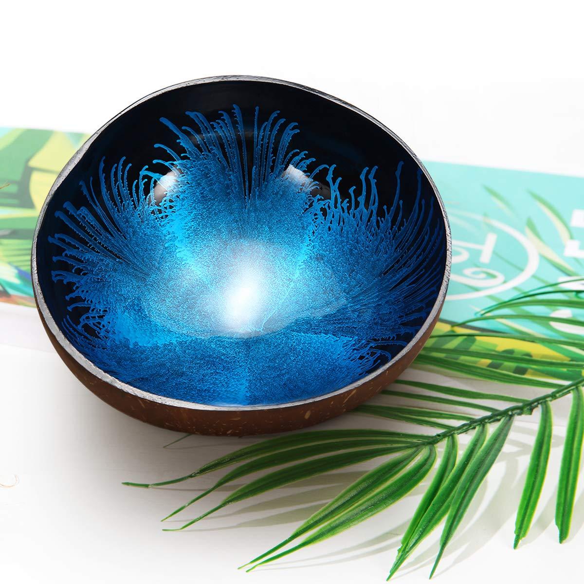 Matte Black Decorative Bowl with Copper Interior for Potpourri Keys or Fruit