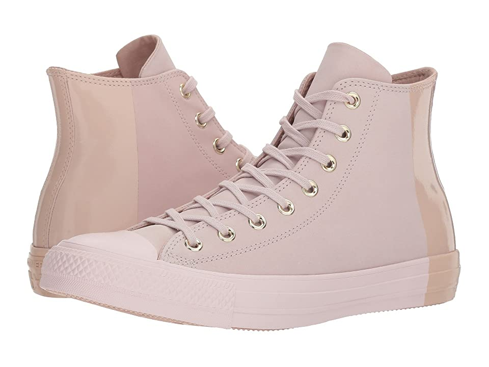Converse Chuck Taylor(r) All Star Blocked Nubuck Hi (Barely Rose/Barely Rose/Particle Beige) Classic Shoes