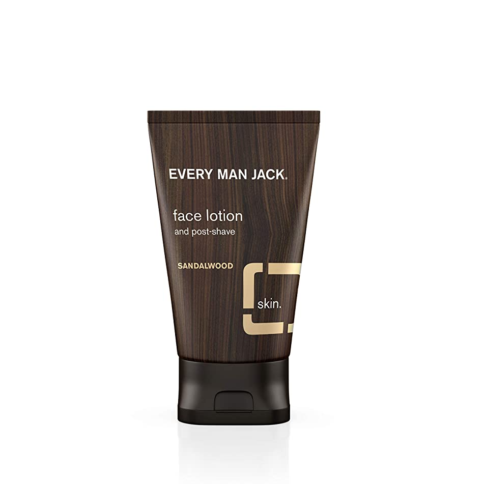Every Man Jack Face Lotion, Sandalwood, 4.2-ounce