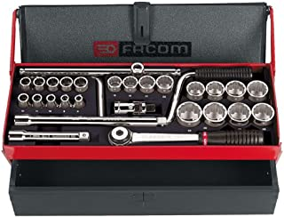 Facom ' 1/2-Inch Socket Spanner Set S.442Ep