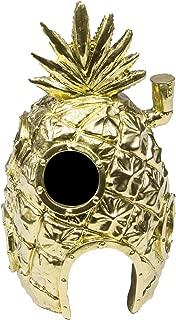 Officially Licensed Spongebob Squarepants Pineapple House Golden Edition Aquarium Ornament