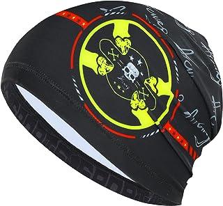 Arcweg Skull Cap Hat under Helmet Liner Cooling Cycling Beanies Running Cycling Skull Cap Sun UV Protection Quickly Dry Un...
