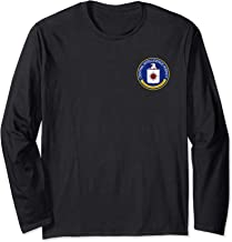 ROCKSTAR USA Collection - Central Intelligence Agency - CIA Long Sleeve T-Shirt