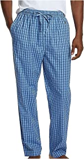 Nautica Men's Soft Woven Pajama Pant Bottom
