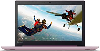 Lenovo IdeaPad 320 Laptop - Intel Celeron N3350, 15.6-Inch, 1TB, 4GB, Eng-KB, Windows 10, Purple