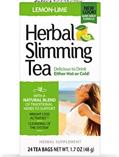 21st Century Slimming Tea -Lemon Lime - 24 Teabags