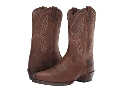 Ariat Bar Sour (Distressed Brown) Cowboy Boots