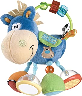 comprar comparacion Playgro Sonajero Multiactividades Caballo, Desde los 3 Meses, Sin BPA, Playgro Activity Rattle Clip Clop, Azul/Multicolor,...