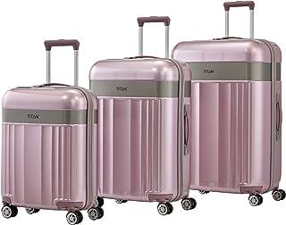TITAN Luggage Set, Pink (Wild Rose), 76cm