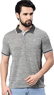 AMERICAN CREW Polo Collar T-Shirt for Men