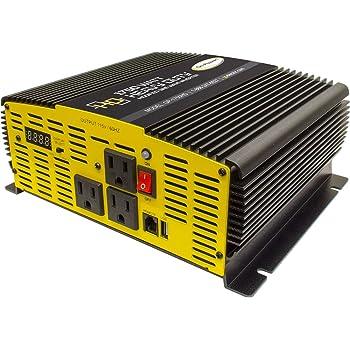 Go Power! GP-1750HD- 1750Watt Heavy Duty Modified Sine Wave Inverter (1750)