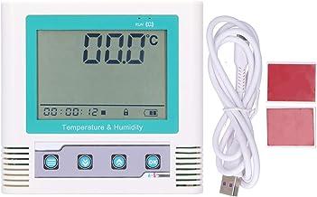 Registrador de Datos de Temperatura Usb, Registrador de Temperatura Con Pantalla Lcd, Registrador de Datos de Temperatura Registrador Usb Incorporado Precisión Normal Con Pantalla Lcd