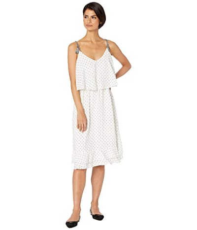 Cupcakes and Cashmere Latana Layered Midi Dress (Ivory) Women
